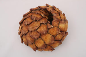 Dark Pangolin Sculpture