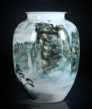 Load image into Gallery viewer, Huangshan Porcelain Vase