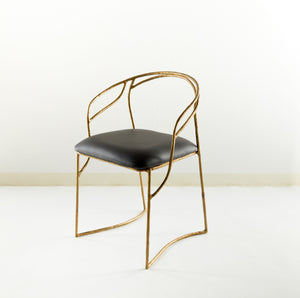 Camber Brass Chair