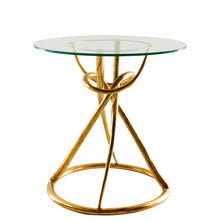 Load image into Gallery viewer, This is a Brass Side Table