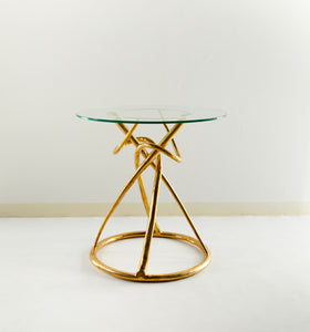 Circuit Brass Side Table