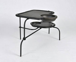 Compound Black Side Table