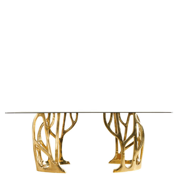 This is a Brass Console