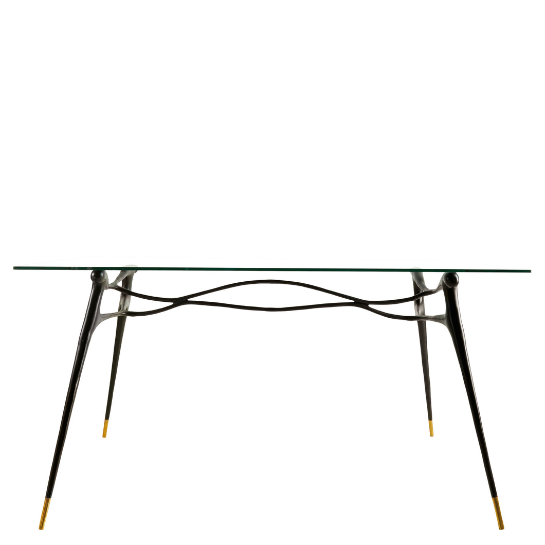This is a Brass Table