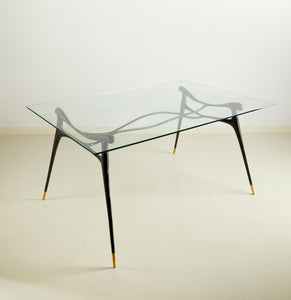 Ink Brass Table