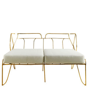 This is a Brass Sofa