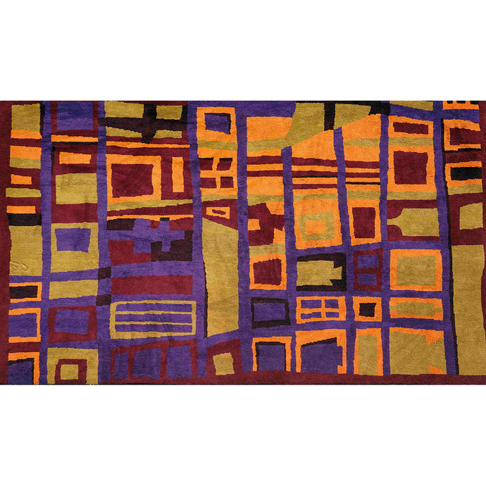 Handwoven Andean Rug | Fall