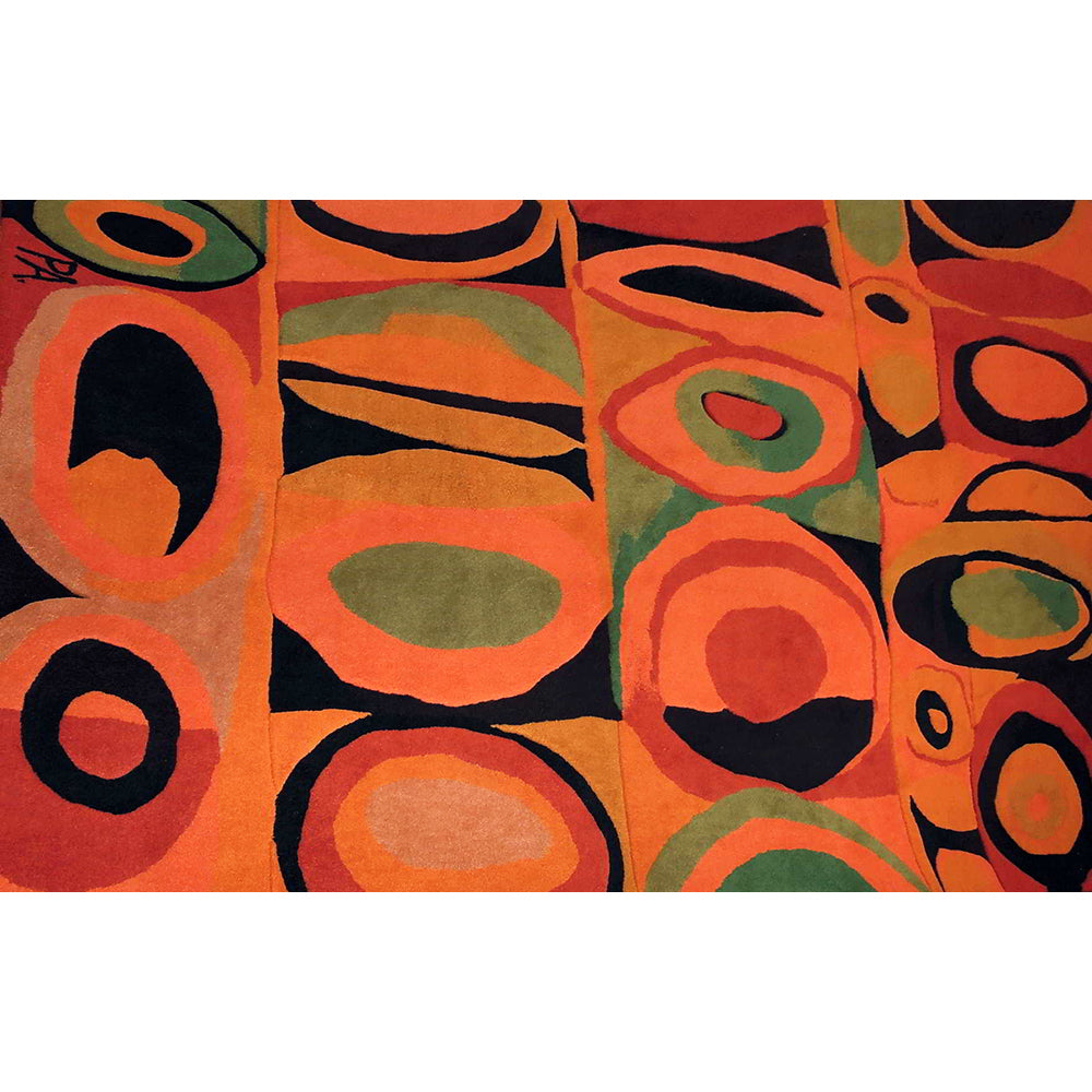 Fruits Handwoven Ecuadorian Rug