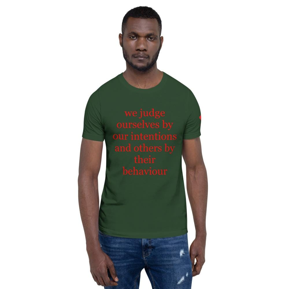 We judge ourselves Unisex T-Shirt