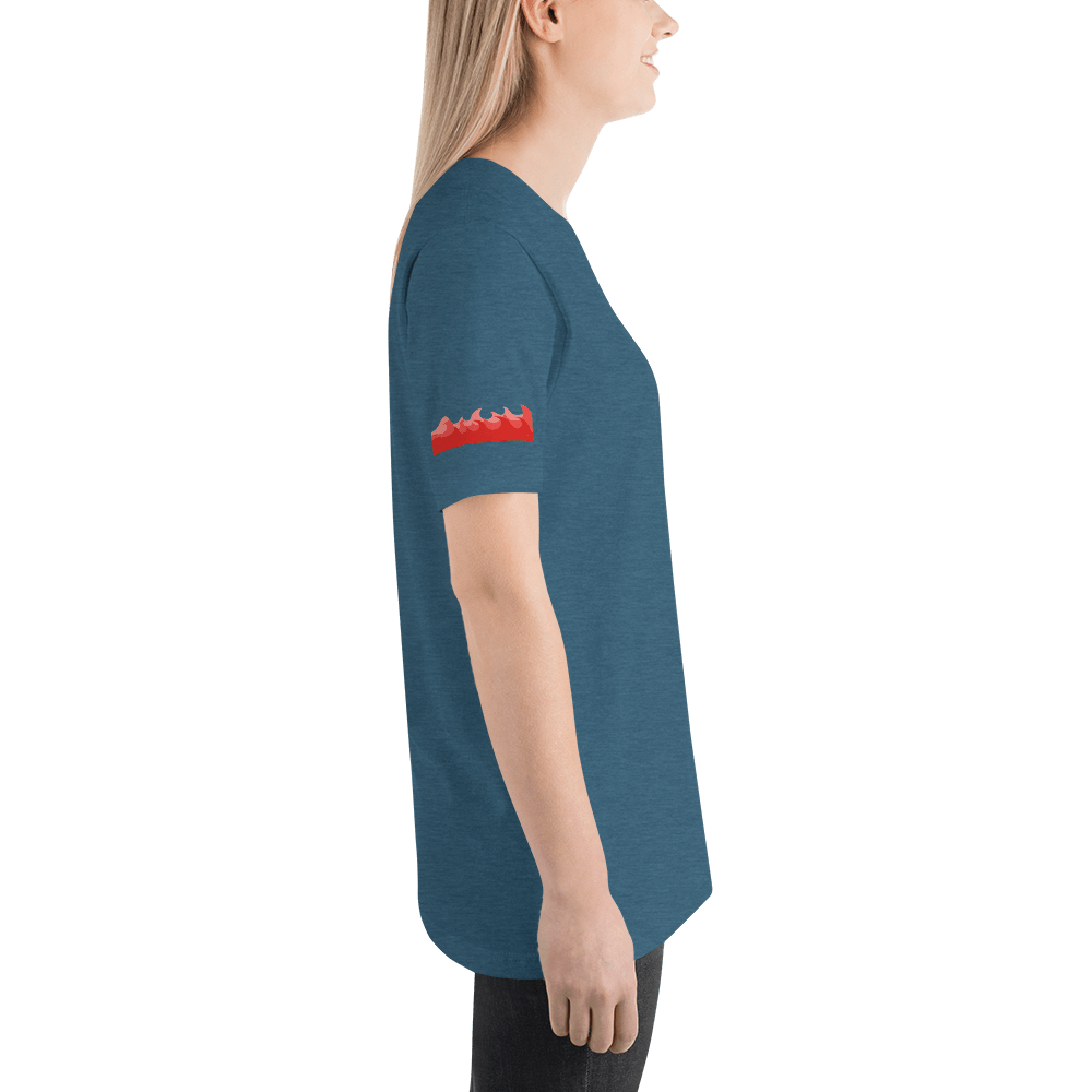 Mermaid Red Waves wohoys Unisex T-Shirt