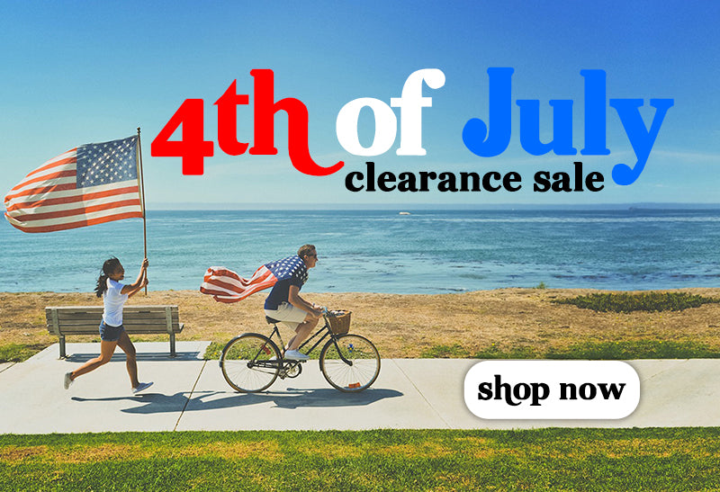 4th of july clearance banner