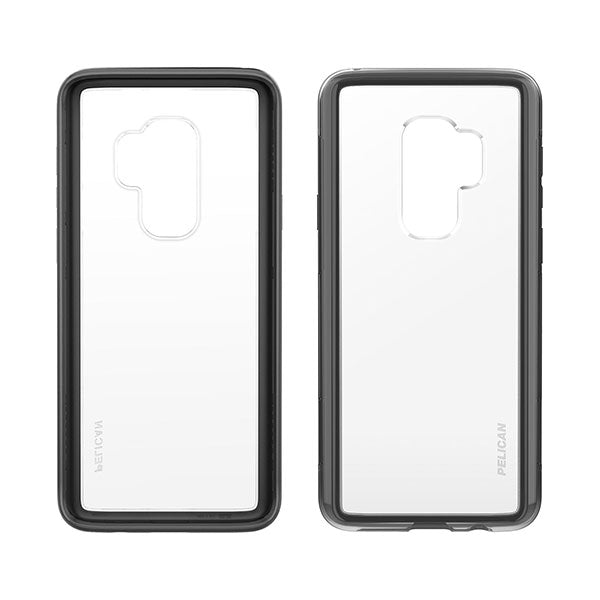 Pelican Adventurer For Samsung Galaxy S9+ - Clear/Black