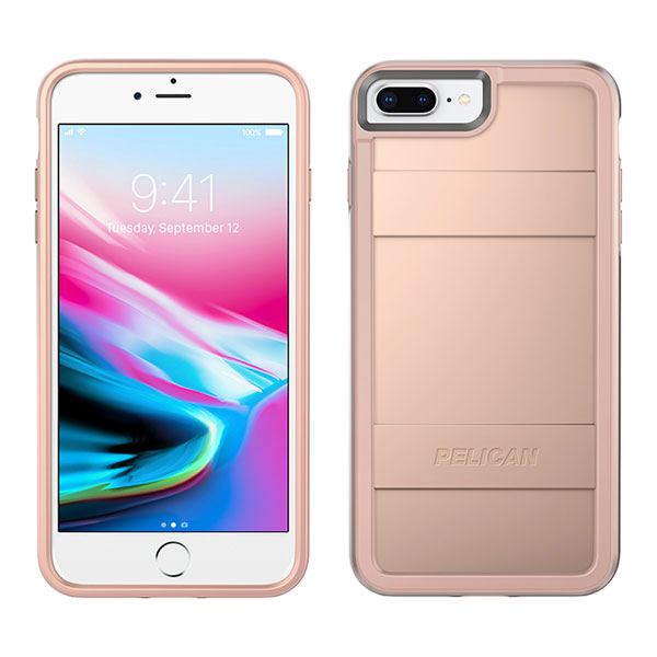 Pelican Protector Case for iPhone 6/6S/7/8 Plus - Metallic Rose Gold