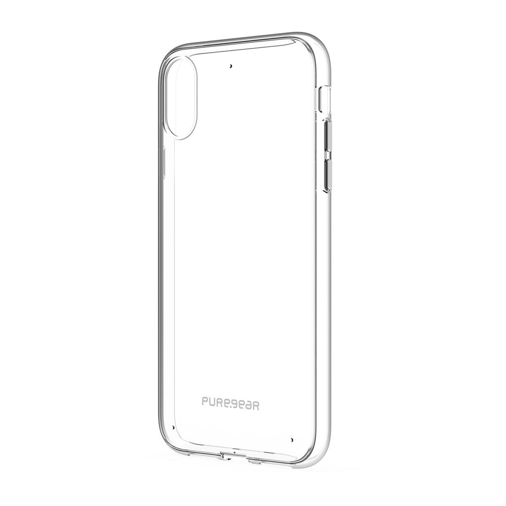 PureGear Slim Shell For iPhone XR - Clear/Clear