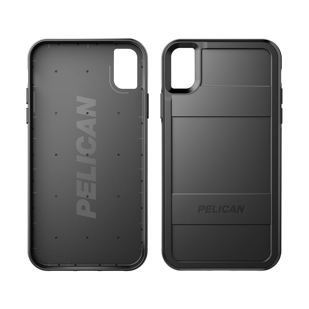 Pelican Protector For iPhone XR - Black/Black