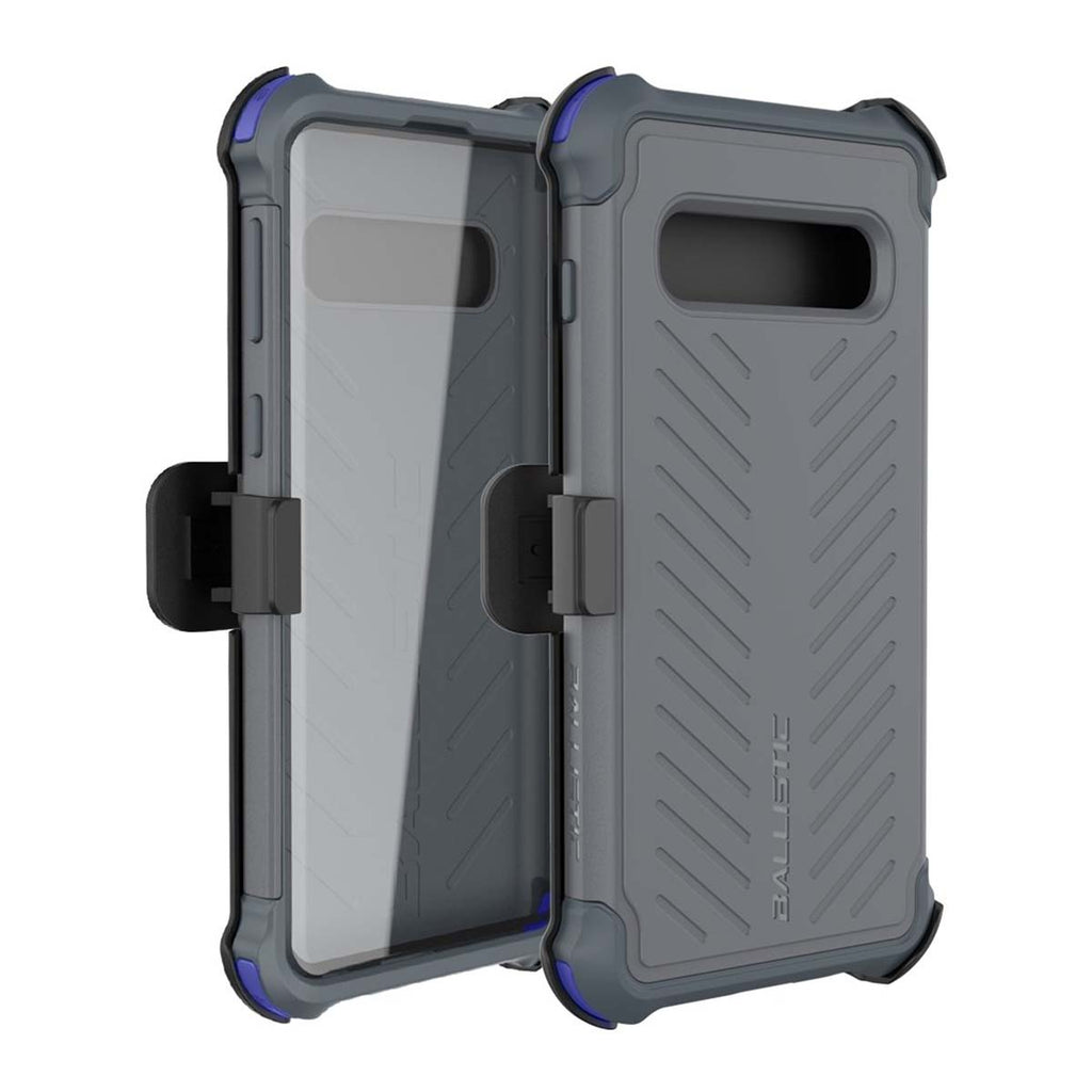 Ballistic Tough Jacket Maxx Series For Samsung Galaxy S10 - Gray