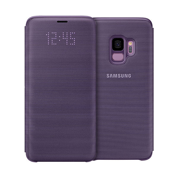 Samsung LED Wallet For Samsung Galaxy S9 - Violet