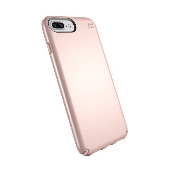 Speck Presidio Metallic Grip Case For iPhone 8/7/6S/6 Plus -  Rose Gold Metallic/Dahlia Peach
