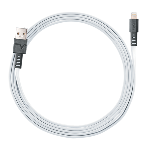 Ventev Lightning USB Charge/Sync Cable - White