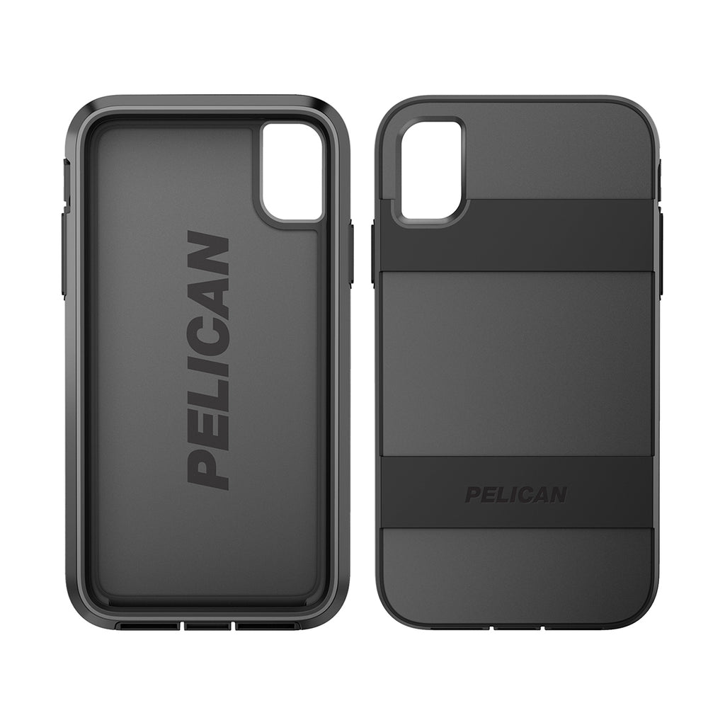 Pelican Voyager For iPhone XR - Black/Black