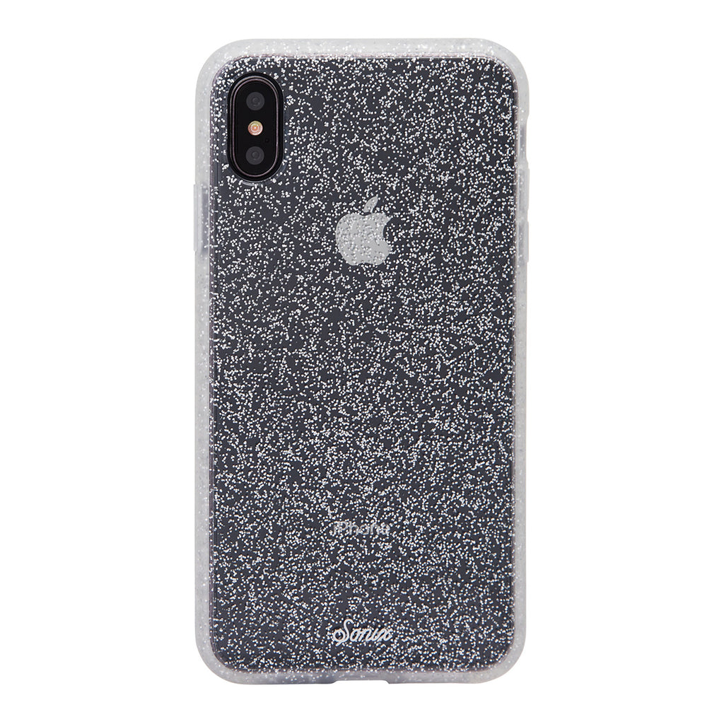 Sonix Clear Coat For iPhone XS Max - Silver Glitter