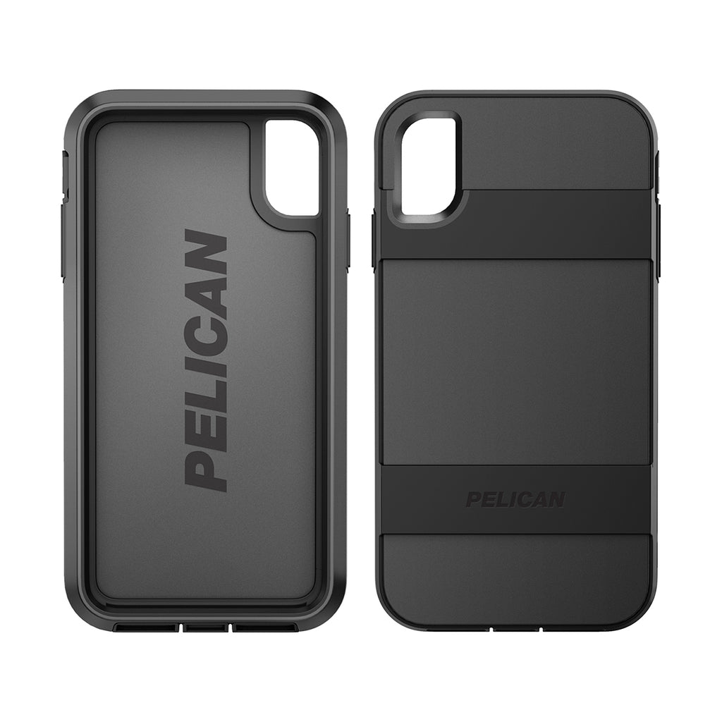 Pelican Voyager For iPhone XS Max - Black/Black