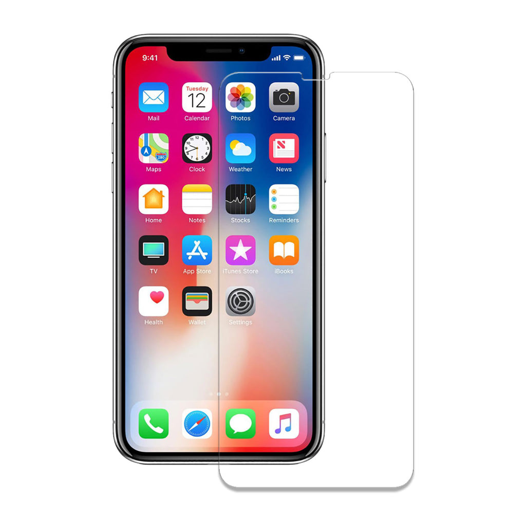Wild Flag Flat Tempered Glass For iPhone XS