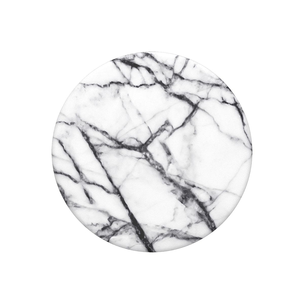 Popsockets Swappable Popgrips - Dove White Marble
