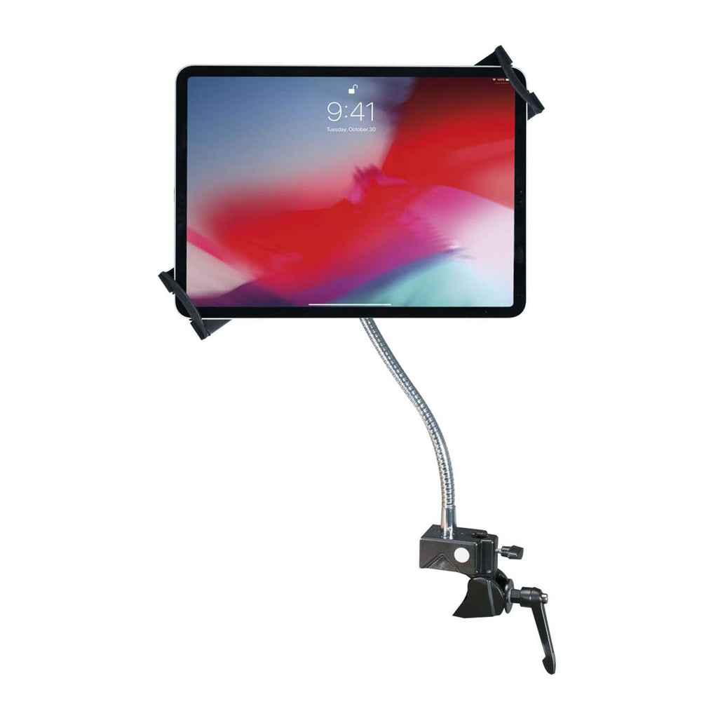 "CTA Digital Inc. Heavy-Duty Security Gooseneck Clamp Stand For 7-13"" Tablets"