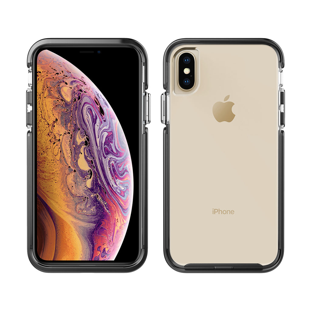 Pelican Ambassador For iPhone XS - Clear/Black/Silver