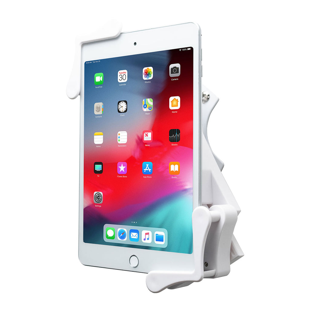 CTA Digital Inc. Rotating Wall Mount For 7-14 Inch Tablets - White
