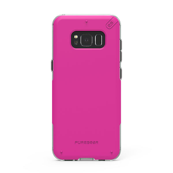 PureGear DualTek Pro For Samsung Galaxy S8 - Pink/Clear