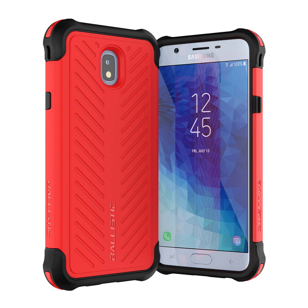 Ballistic Tough Jacket Series For Samsung J7 2018 - Red