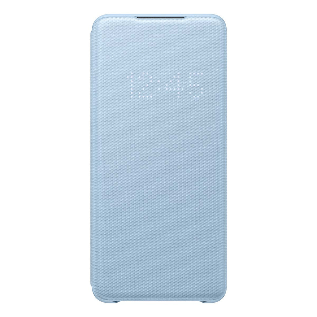 Samsung LED Wallet Cover For Samsung Galaxy S20 Plus - Blue