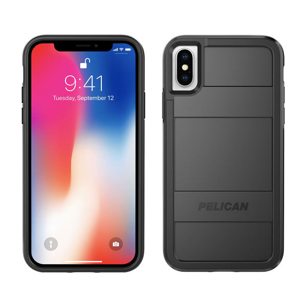 Pelican Protector Case For iPhone X - Black