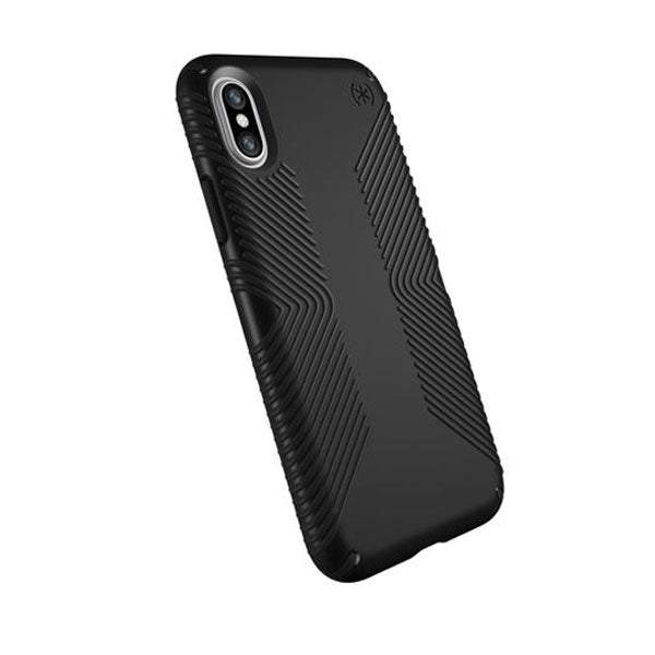 Speck Presidio Case for iPhone X - Black/Black