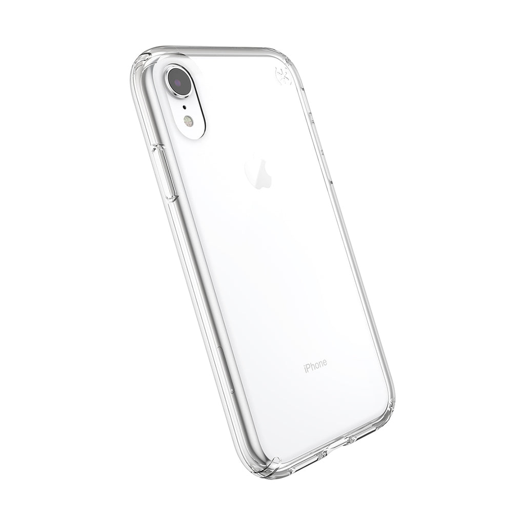 Speck Presidio Stay Clear Case For iPhone XS - Clear/Clear