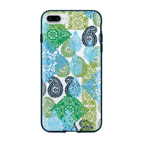 Vera Bradley Flexible Frame Case for Iphone 7 Plus & Iphone 6/6S Plus - Caribbean Sea Multi Blue/Cl