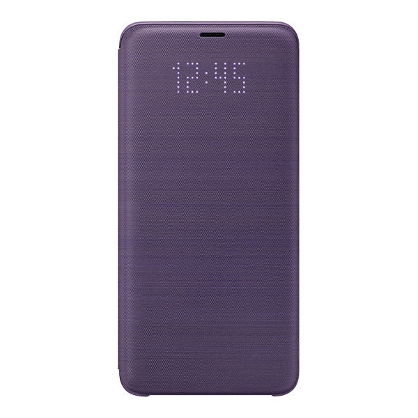 Samsung LED Wallet Cover For Samsung Galaxy S9+ - Violet