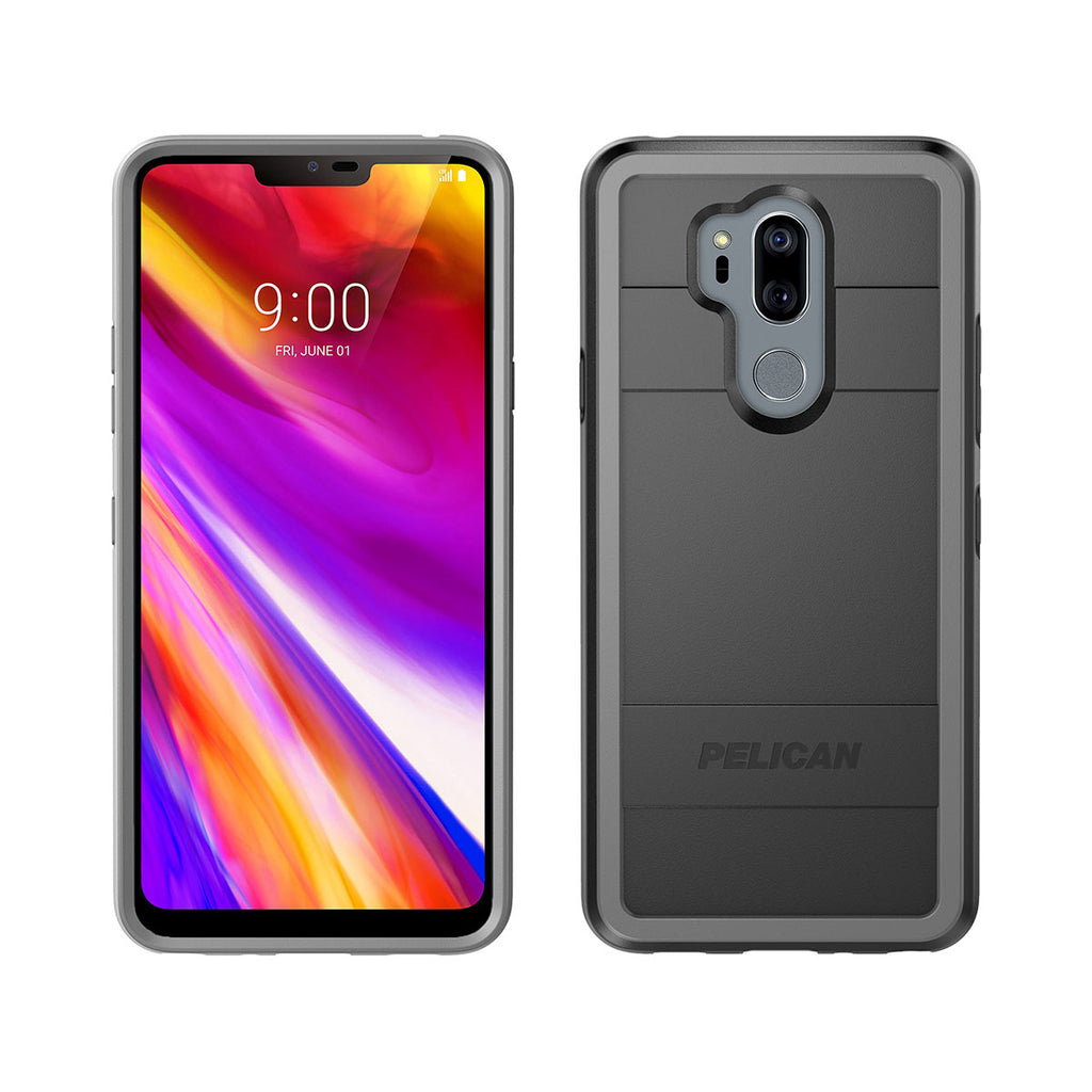 Pelican Protector Case For LG G7 - Black/Light Grey