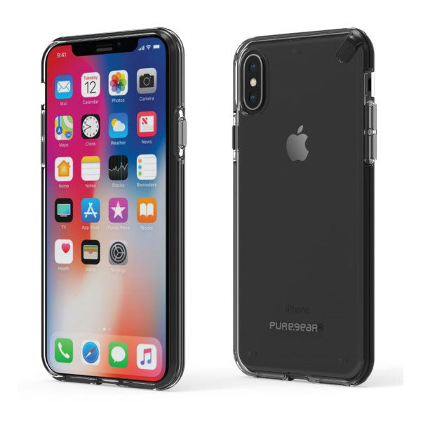 Puregear Slim Shell For iPhone X - Clear/Clear