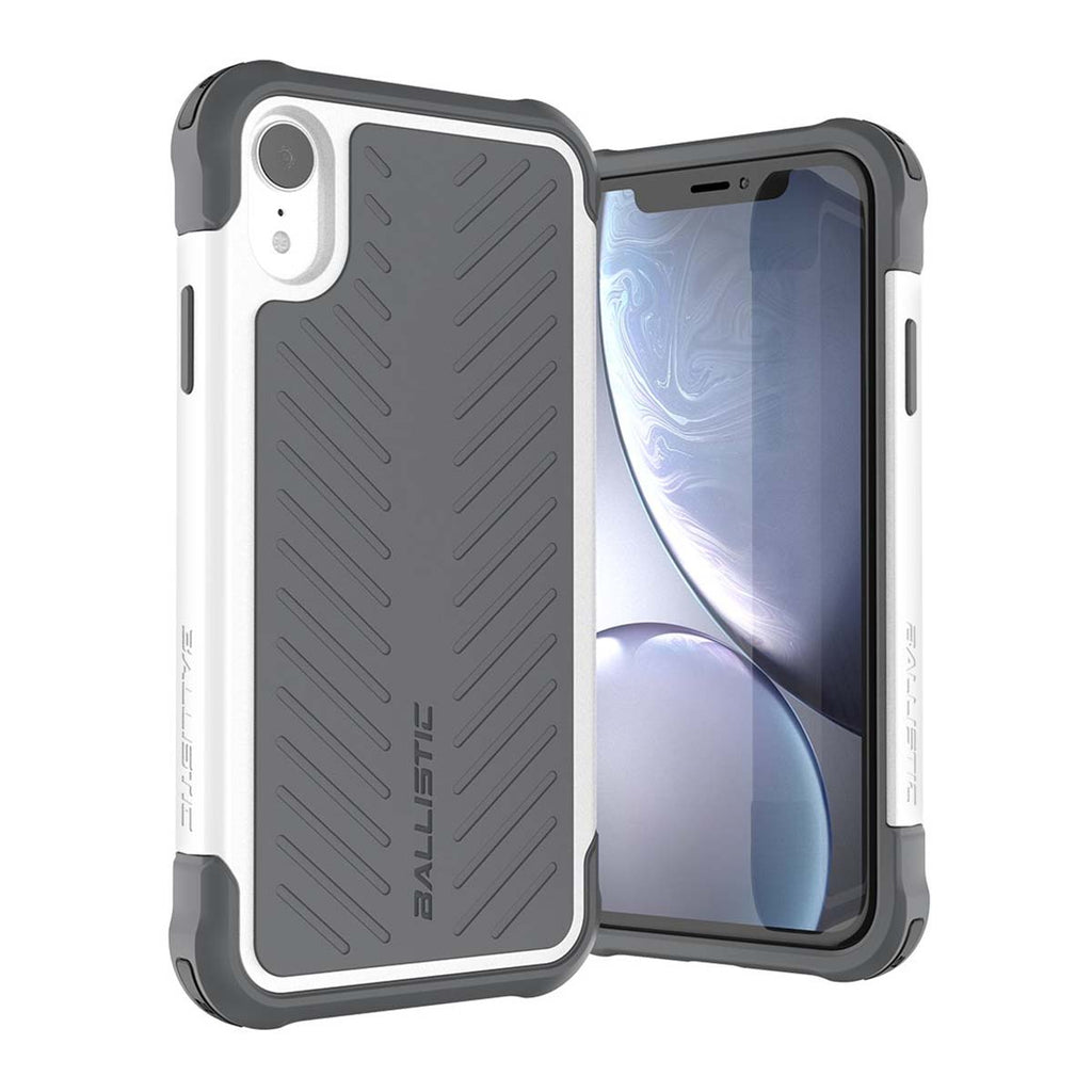 Ballistic Tough Jacket Series For iPhone XR - Gray
