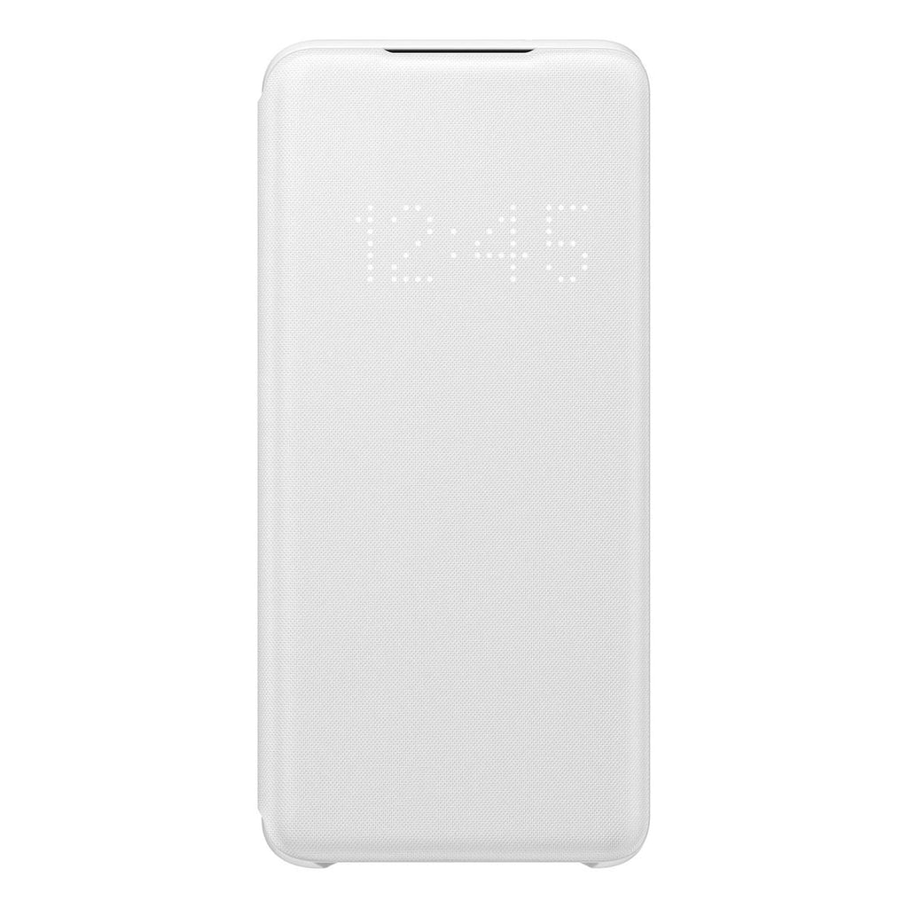 Samsung LED Wallet Cover For Samsung Galaxy S20 - White
