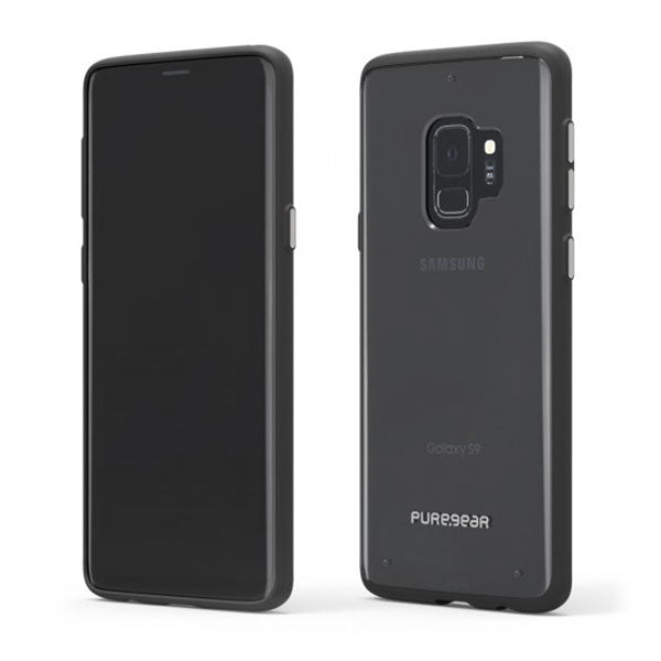 PureGear Slim Shell For Samsung Galaxy S9 - Clear/Black