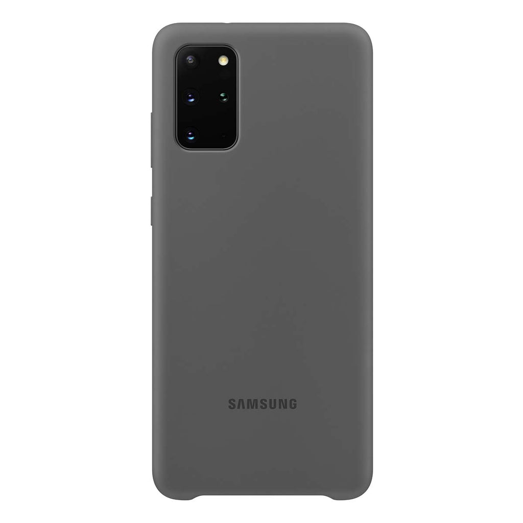 Samsung Silicone Cover For Samsung Galaxy S20 Plus - Gray