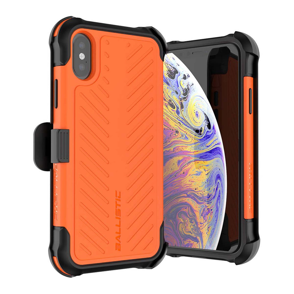 Ballistic Tough Jacket Maxx Series For iPhone XS - Orange
