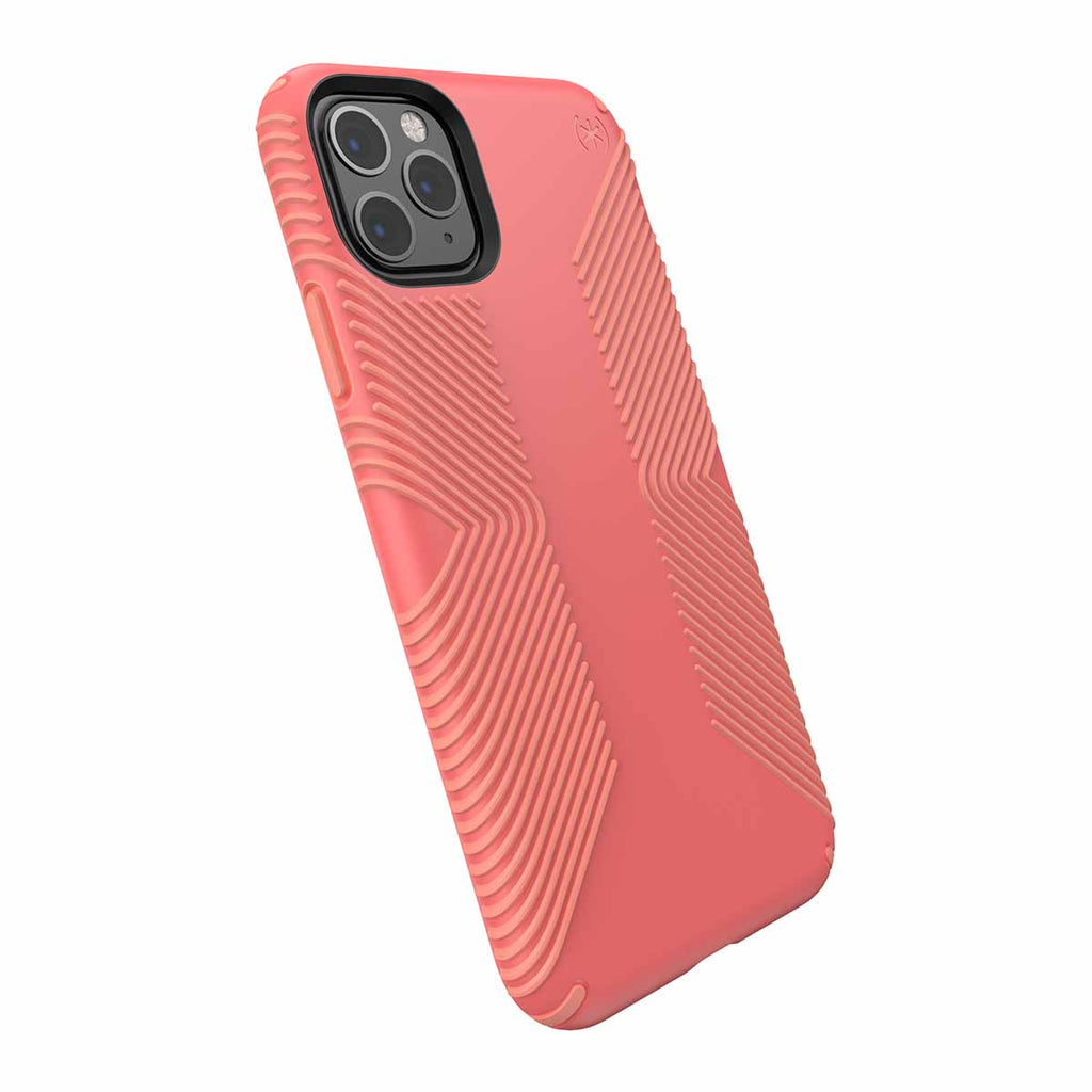 Speck Presidio Grip For iPhone 11 Pro Max - Parrot Pink/Papaya Pink