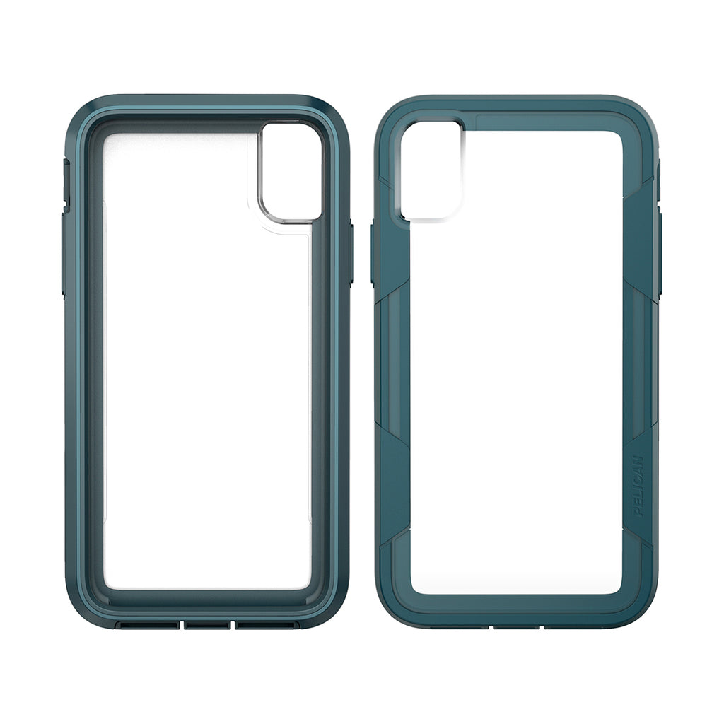 Pelican Voyager For iPhone XR - Clear/Teal