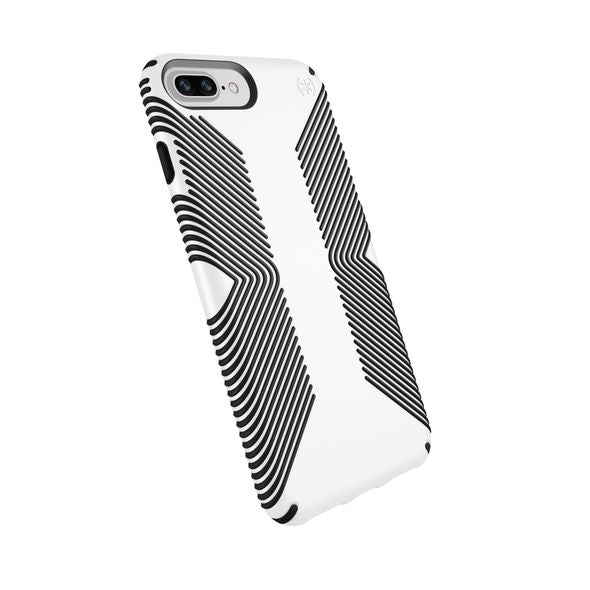 Speck Presidio Grip Case For iPhone 8/7/6S/6 Plus - White/Black