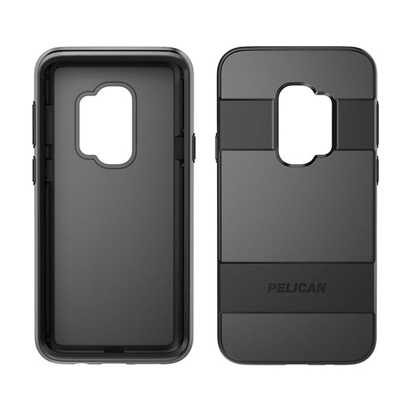 Pelican Voyager Pro Case For Samsung Galaxy S9+ - Black/Black